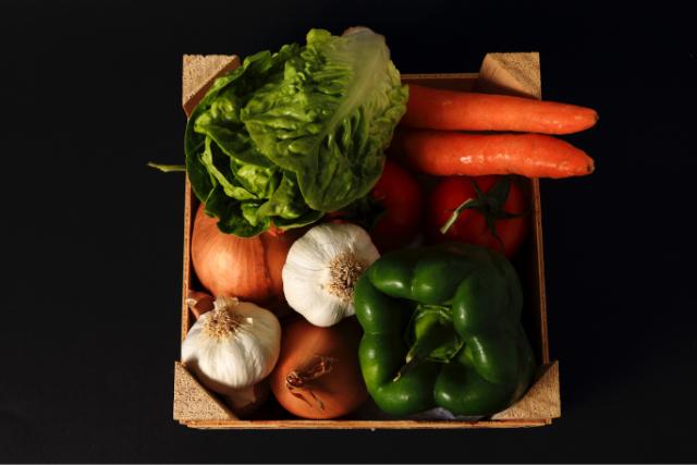 新鮮野菜を小ロットでも配送